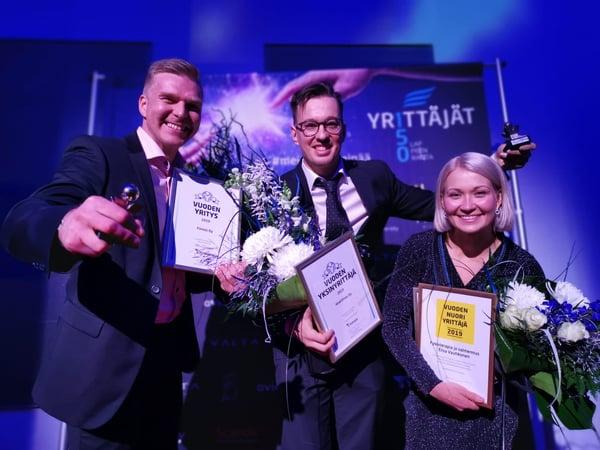 Finnos признан компанией года 2019 в Лаппеэнранте