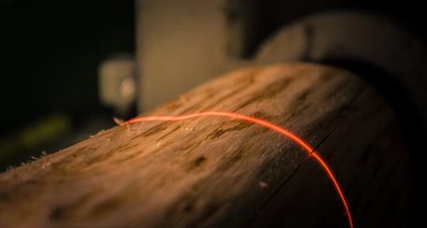 Röntgen ja laser kertovat tukin ominaisuudet