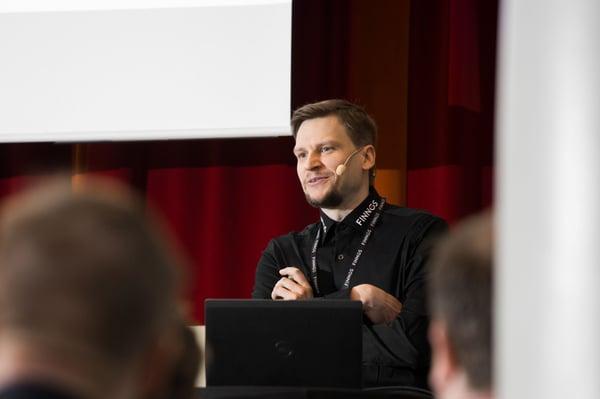 Finnoksen teknologiajohtaja valittiin kolmen parhaan joukkoon vuoden 2021 teknologiajohtajafoorumissa