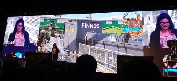 Finnos в топ-12 в финале Startup World Cup 2019!